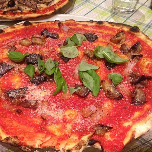 Patlıcanlı Pizza / Roma / İtalya 2016