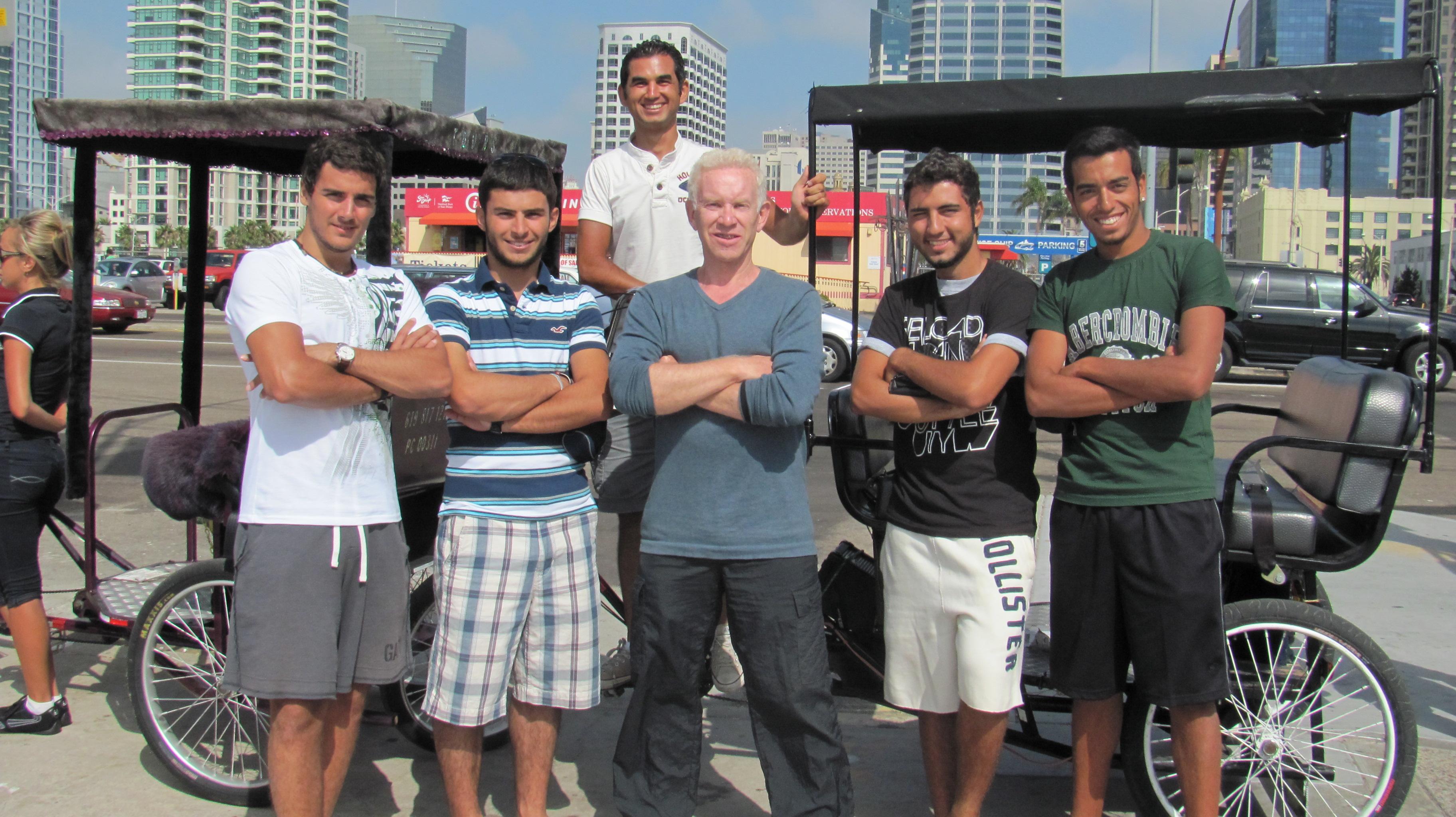 Padicap şöförü Türk arkadaşımız ve Roger'ın askerleri