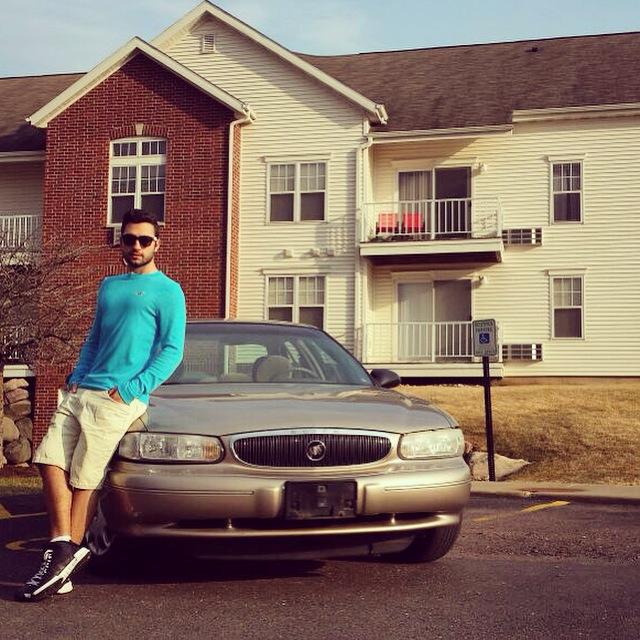 H2B Vizesi ile gittiğim ABD'de Wisconsin eyaletinde kiraladığım ev ve 1200$ 'a satın aldığım araba..