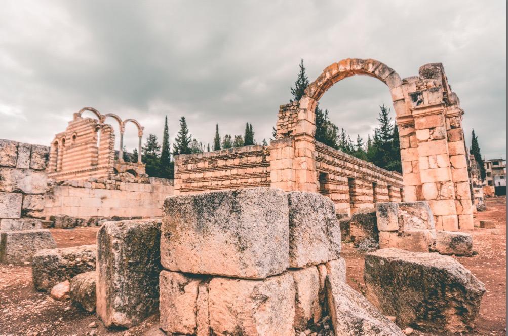 Anjar / Ermeni yerleşkesi / Lübnan