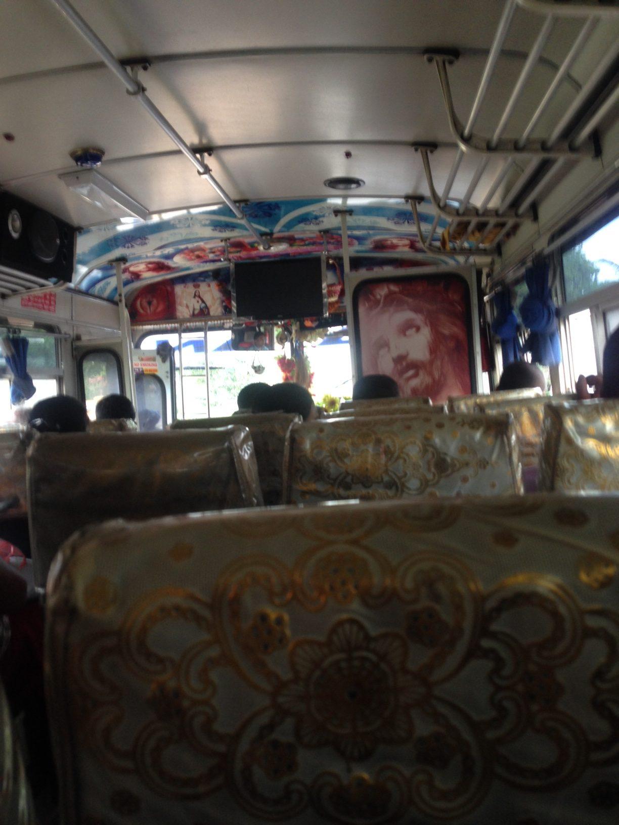 Tipik Sri Lanka Otobüsü
