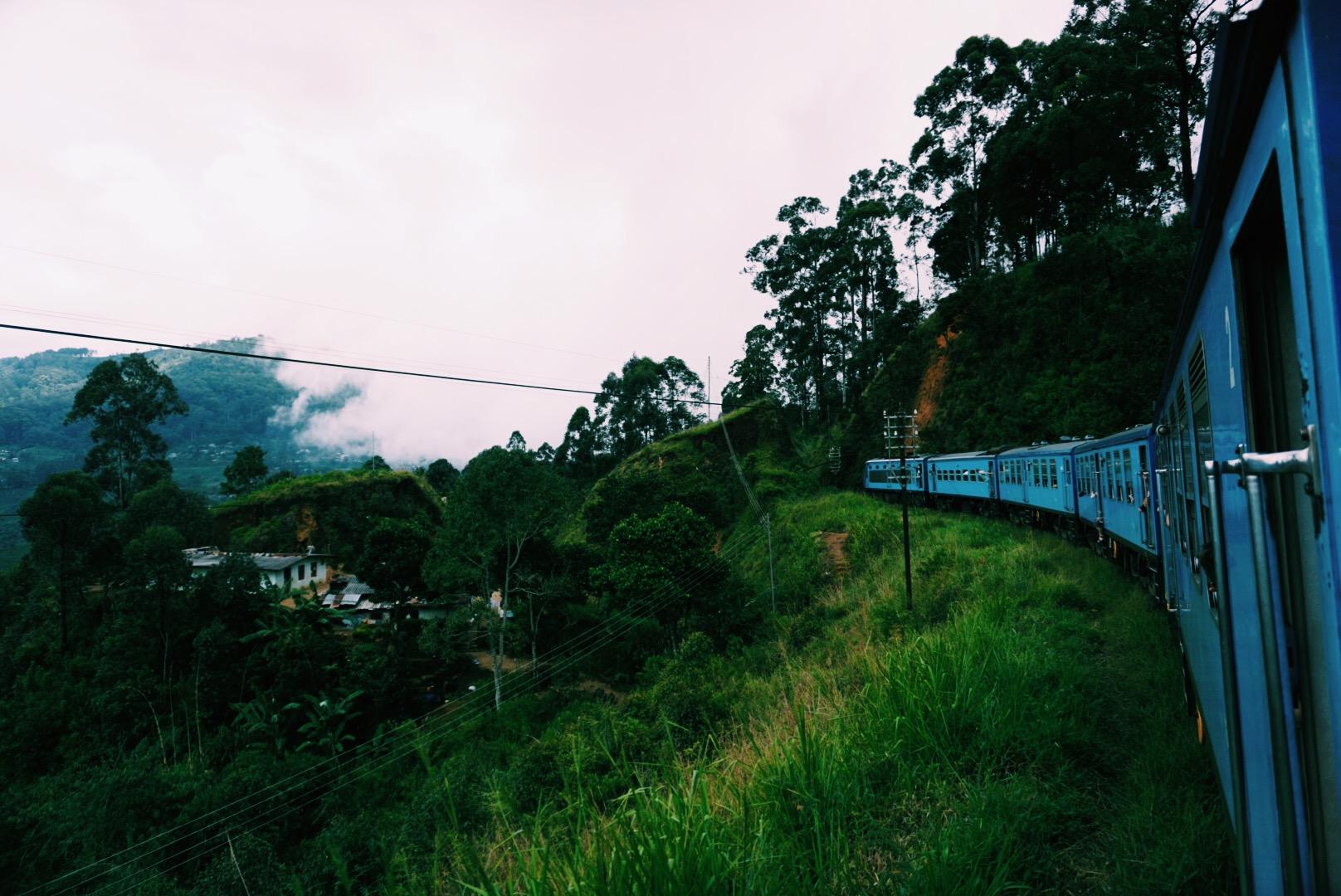 Kandy-Ella tren yolculuğu / Sri Lanka