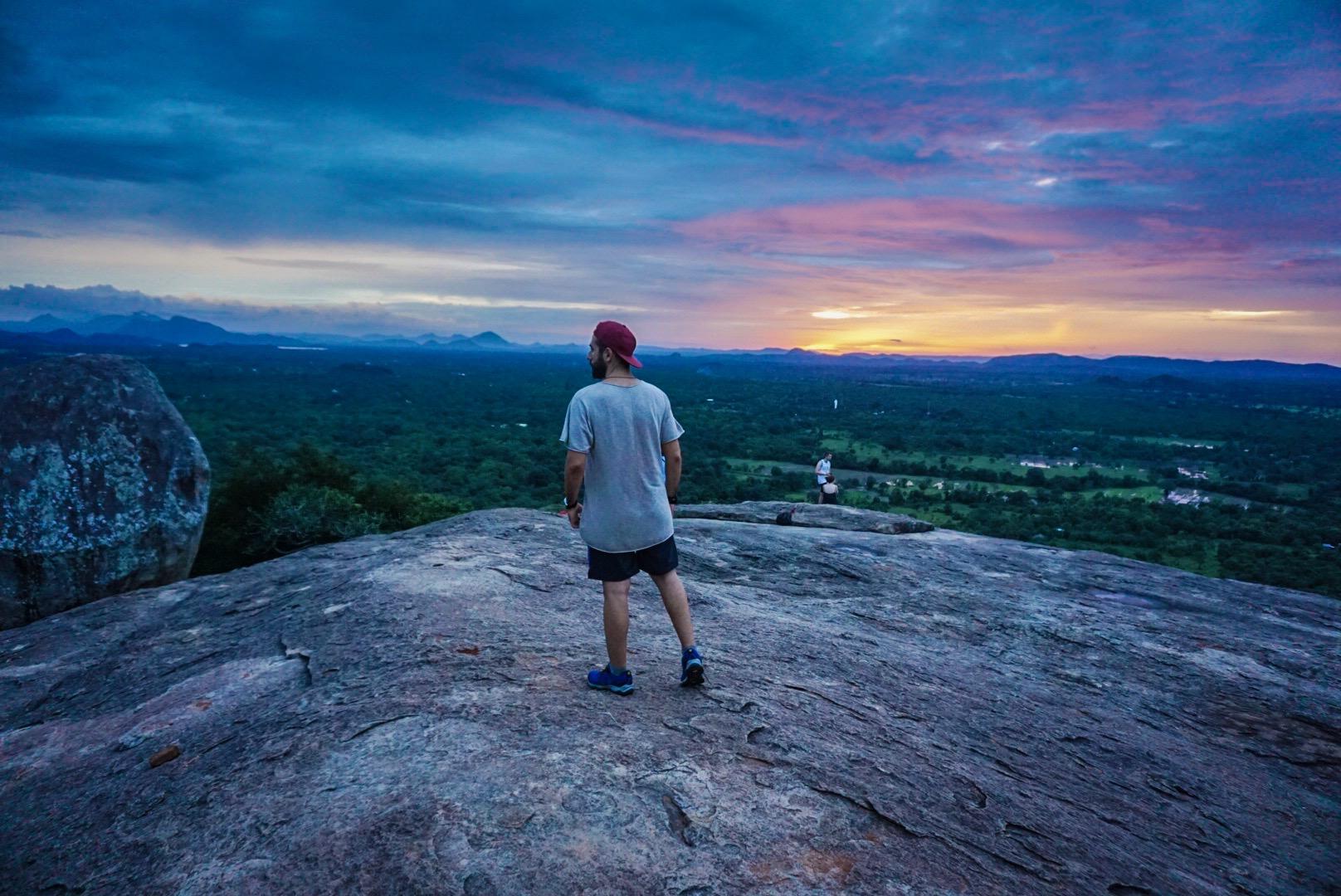Pidurangala Rock / Sigiriya / Sri Lanka