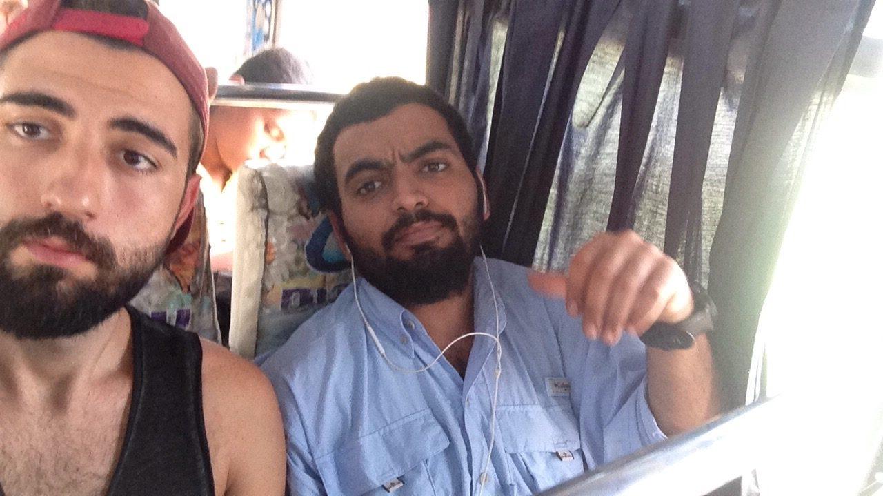 Yol Arkadaşım Abdulla ile birlikte başka bir otobüs yolculuğu