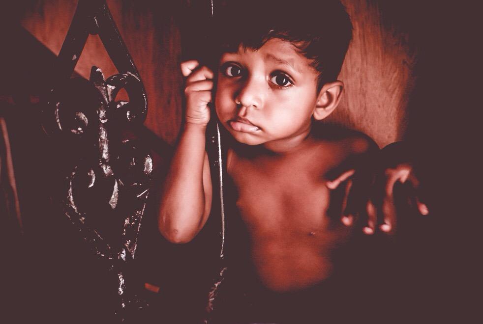 Evin en küçük çocuğu Rethik / Colombo