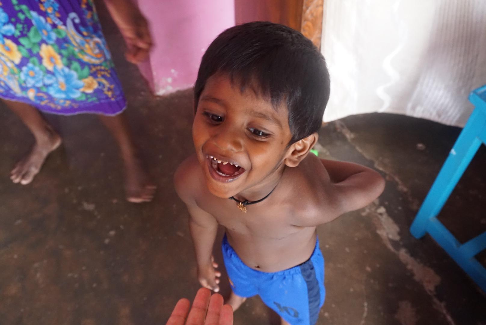 Evin 4 yaşındaki çocuğu