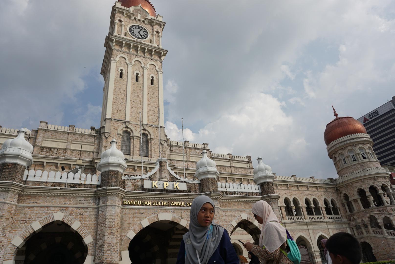 Sultan Abdulsamet binası, Kuala Lumpur / Malezya, Aralık, 2017