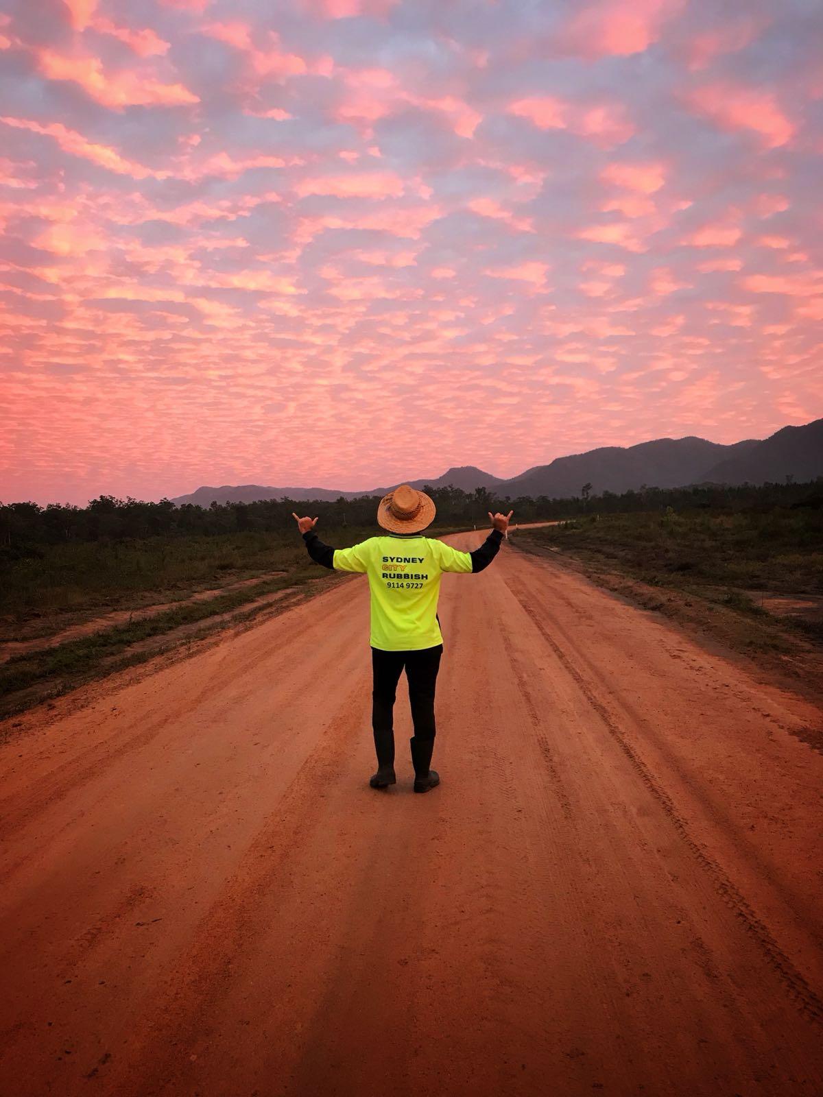 Avustralya'nın Queensland eyaletinin Cardwell kasabasında çalıştığım Ormancılık işi